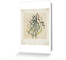 Against The Tide Greeting Card