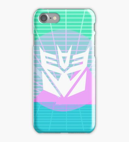 80s Decepticon Insignia iPhone Case/Skin