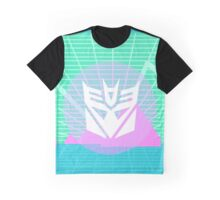 80s Decepticon Insignia Graphic T-Shirt