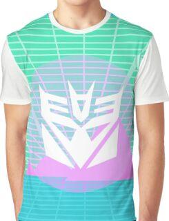 80s Decepticon Insignia Graphic T-Shirt