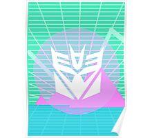80s Decepticon Insignia Poster