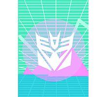 80s Decepticon Insignia Photographic Print