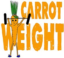 Carrot Weight - Tshirts & Hoodies  Photographic Print