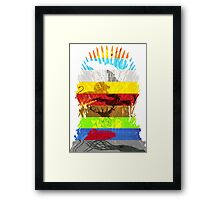 Fight for the Throne Framed Print