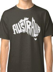 Australia White Classic T-Shirt