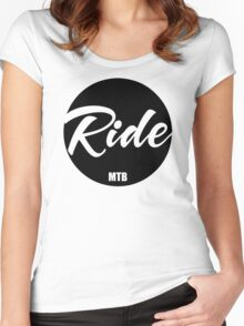 Ride Mtb Women's Fitted Scoop T-Shirt