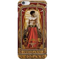 Art Nouveau Sherlock iPhone Case/Skin