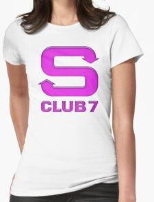 S Club 7 Womens Fitted T-Shirt