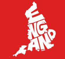 England White Kids Tee