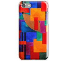 Colours, abstract iPhone Case/Skin