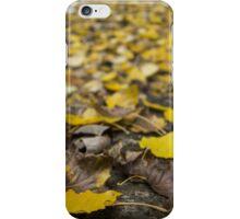 Leaves (Tokyo Fall) iPhone Case/Skin
