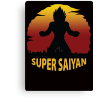 Super Saiyan Canvas Print
