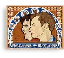 Holmes & Holmes Canvas Print