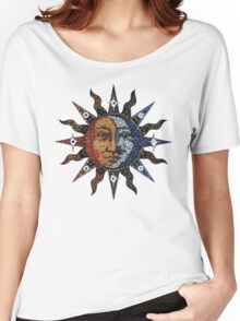 Sun and Moon. Women's Relaxed Fit T-Shirt