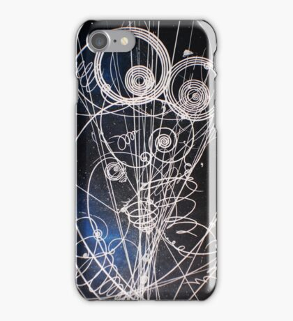 Particle trails iPhone Case/Skin