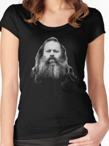 Rick Rubin - DEF JAM shirt Women's Fitted Scoop T-Shirt