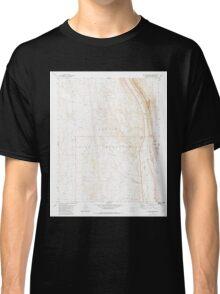 USGS TOPO Map Arizona AZ Willow Springs 314133 1981 24000 Classic T-Shirt