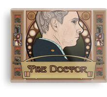 The Doctor Metal Print