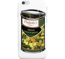 Pozinsky's Vegetables (Mixed)  iPhone Case/Skin
