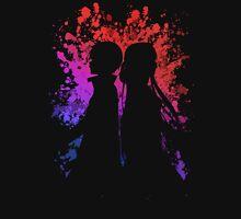 Asuna Kirito Paint Splatter Anime Manga Shirt Unisex T-Shirt