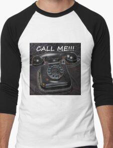 Call Me! Men's Baseball ¾ T-Shirt