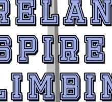 All Ireland Spire Climbing Champion Sticker