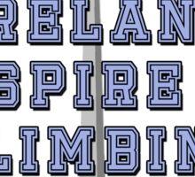 All Ireland Spire Climbing Champion Sticker