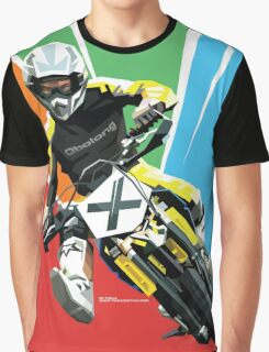 Motocross - Push Over The Limit (no text) Graphic T-Shirt