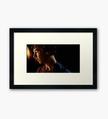 The Dark Hours of the Night Framed Print