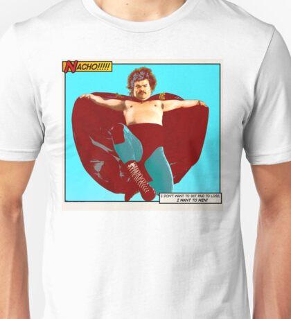 Nacho Libre - I Want To Win! Unisex T-Shirt