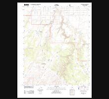 USGS TOPO Map Arizona AZ Red Knoll 20111118 TM Unisex T-Shirt