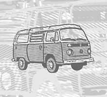 Grey Bay Campervan Dub-U (please see description) by Ra12