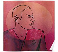 "Tuvok from ""Riddles"" Poster"