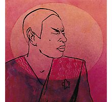 "Tuvok from ""Riddles"" Photographic Print"