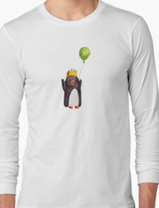 Happy Penguin Long Sleeve T-Shirt