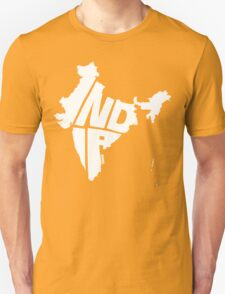 India White T-Shirt