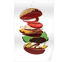 Burger Stack  Poster