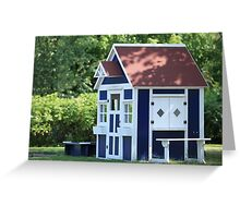 playhouse for kids Greeting Card