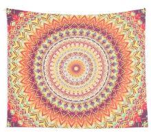 Mandala 98 Wall Tapestry
