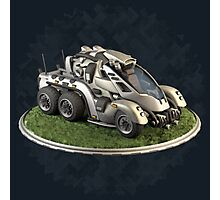Futuristic Scout Vehicle Photographic Print