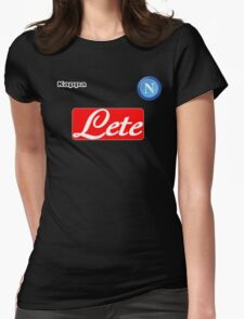 ssc napoli serieA Womens Fitted T-Shirt
