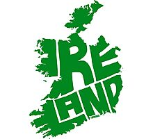Ireland Green Photographic Print