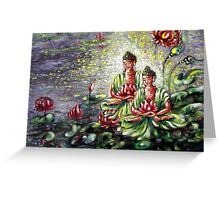 Buddha  Greeting Card