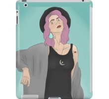 Tonks Blue Background iPad Case/Skin