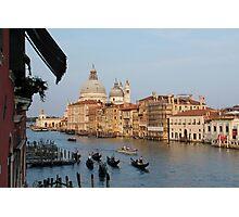 Gondolas in Venice Photographic Print