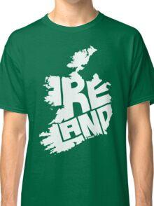 Ireland White Classic T-Shirt