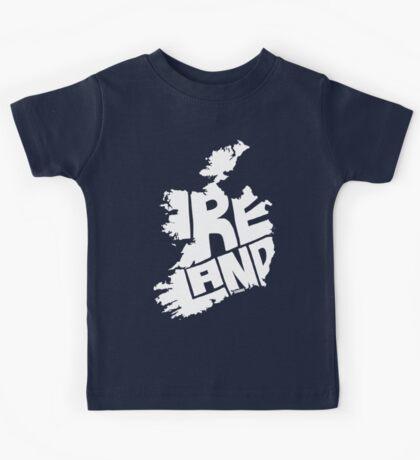 Ireland White Kids Tee