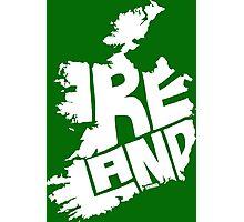Ireland White Photographic Print
