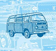 Blue Bay Campervan Dub-U (please see description) by Ra12
