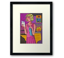 I Can't Give Her What She Wants Framed Print